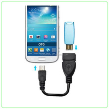 2017 promotion stock micro usb OTG cable