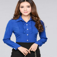 new styles formal korean style blouse