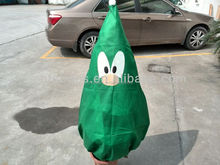 christmas tree bag,pp nonwoven plant cover bag, crop protection bag