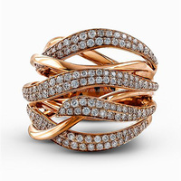 Popular High Quality Elegant Rose Gold
