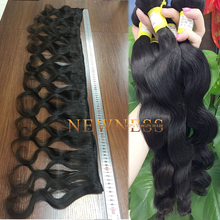 Factory Wholesale Price Unprocessed Virgin natural orange hair extension