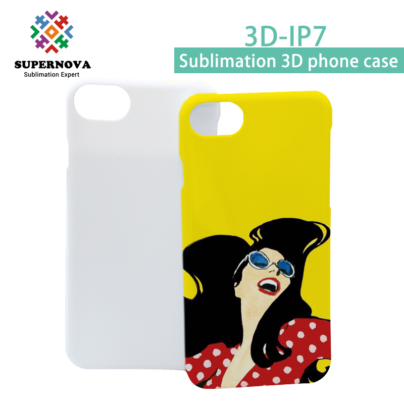 Blank Sublimation 3D Mobile Phone Case for iPhone 7