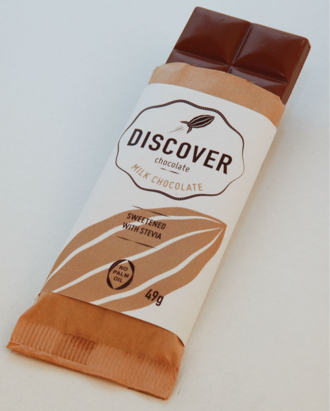 Discover Stevia Milk Chocolate