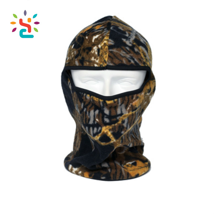 Winter Tactical Camouflage Thermal Fleece Balaclava Neck Masks Hoods Paintball Hats Motorcycle Tactical Full Face Mask