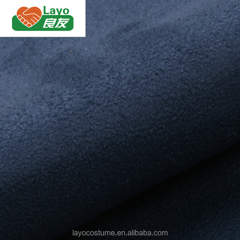 China Supplier Suede Weft 100% Polyester Suede Fabric 150D*300D Suede Fabric For Women Garments
