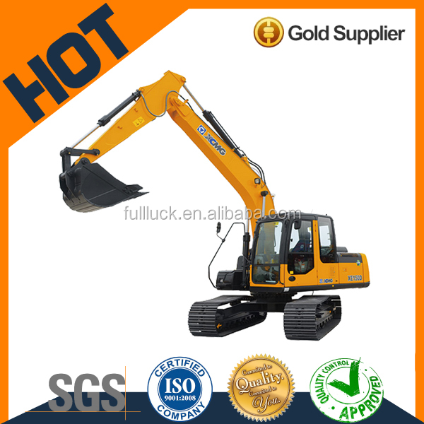XCMG 15T crawler price of hydraulic excavator medium size XE150D