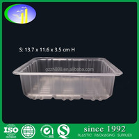 Plastic Semitransparent Bakery Food Fruit Container/Tray