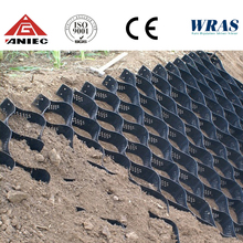 Ultrasonic Cellweb For Slope Pavers Slope Protection geocell/geogrid