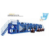 Full servo automatic high quality pampers baby diaper machine