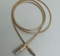 stainless flexible metal braided 2 in 1 interface usb cable