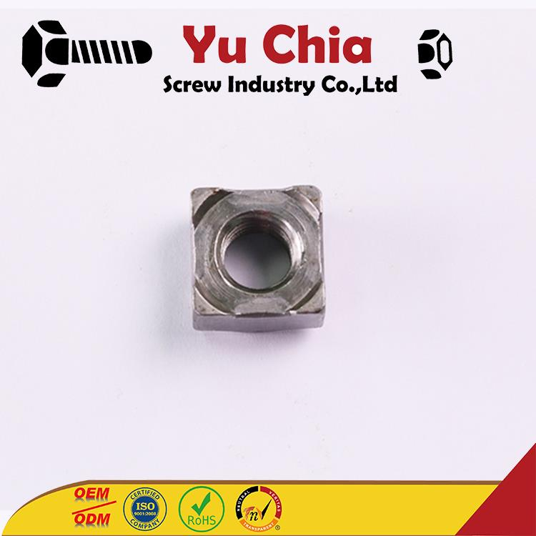 OEM ODM Carbon Steel Arc Welding M8 Weld Nuts Tab Weld Nut with great price
