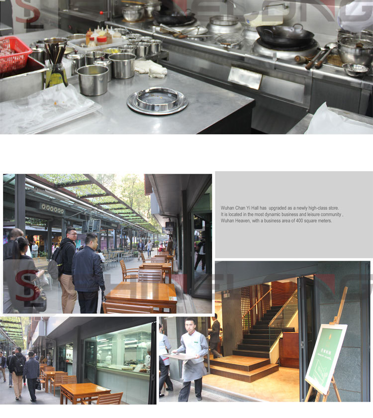 China Wuhan Flavor Hall Kitchen Project