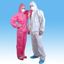 Pink coveralls, disposable pink coverall for female,flame retardant coverall