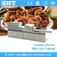 Factory Supply Wholesale Stainless Steel Modern Kitchen Cabinet Modular