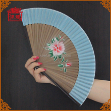 Spanish Style Bamboo Folding Hand Fan With Painting GYS912-5
