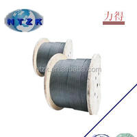 Nantong Factory Steel Wire Rope 6X37