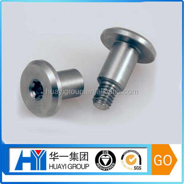 custom high quality stainless steel shoulder torx head bolt,t40 torx bolt factory
