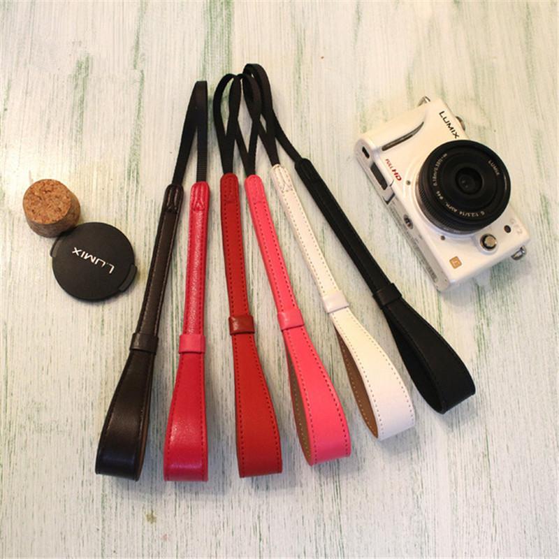 Custom Handmade New Way Camera Micro-Camera Leather Strap Wrist Strap SLR Rangefinder Camera Hand Strap Good Quality Cheap Price