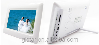 "7"" inch portable simple function digital photo frame"
