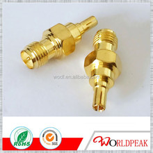 RP SMA female/jack to CRC9 male/plug adapter