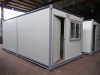 40ft well decorated modular prefabricated prebuilt container houses for sale with cheap price