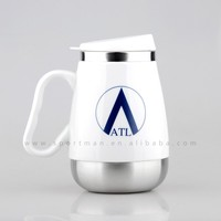 ceramic travel mug with stainless steel inside stainless steel travel mug with lid