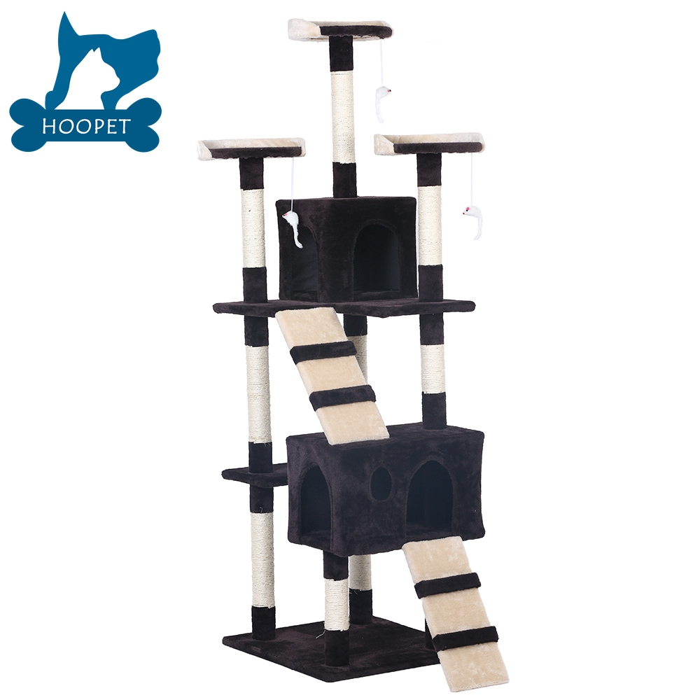 Cat Tree Condo For Cat Houses And Scratching Post Tower Free Samples