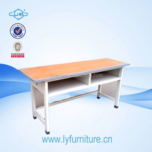 Fashion style adjustable metal legs desks for students