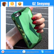 2 in 1 Electroplating 3D Diamond Case for iphone 6 6 Plus Cover