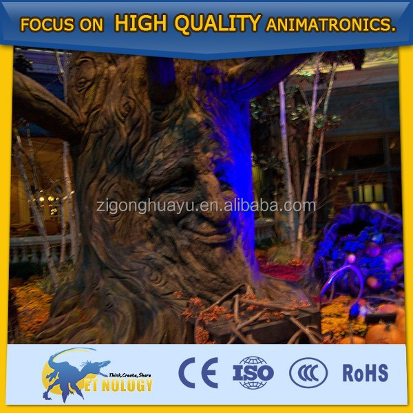 Lively Festival/Events Decoration Artificial Harvest Autumn Talking Trees