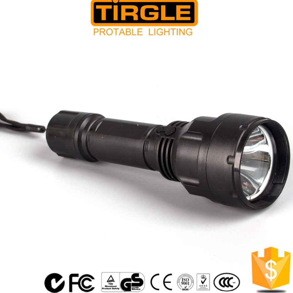 led rechargeable torch flashlight