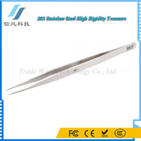BEST-Q1High Rigidity Matte Stainless Steel Eyebrow Tweezers