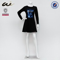 Ladies jogging dress fashion design small girls dress