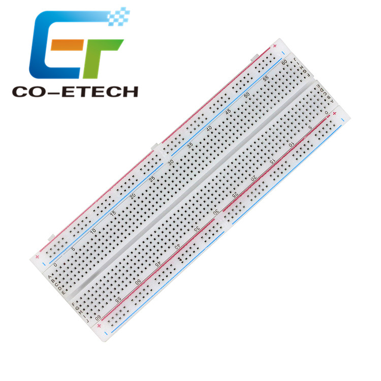 Solderless PCB 830 Point Breadboard MB-102 Bread Board MB102 830 <strong>Holes</strong> 16.5*5.5cm