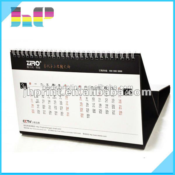 high quality Professional Coloring greeting card company 2016 calendar printing