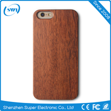 for iphone 6 6s real wood phone case red color, solid rose wood phone case for iphone 6 6s
