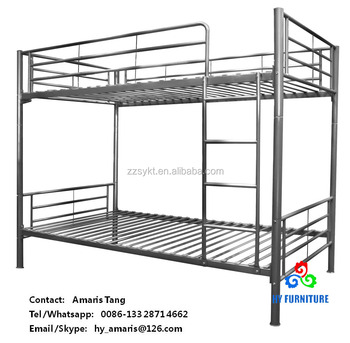 Wholesale dormitory beds metal bunk beds frames factory