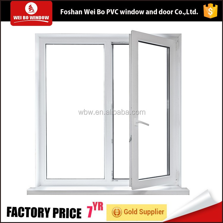 pvc tilt and turn windows,high quality pvc tilt and turn window