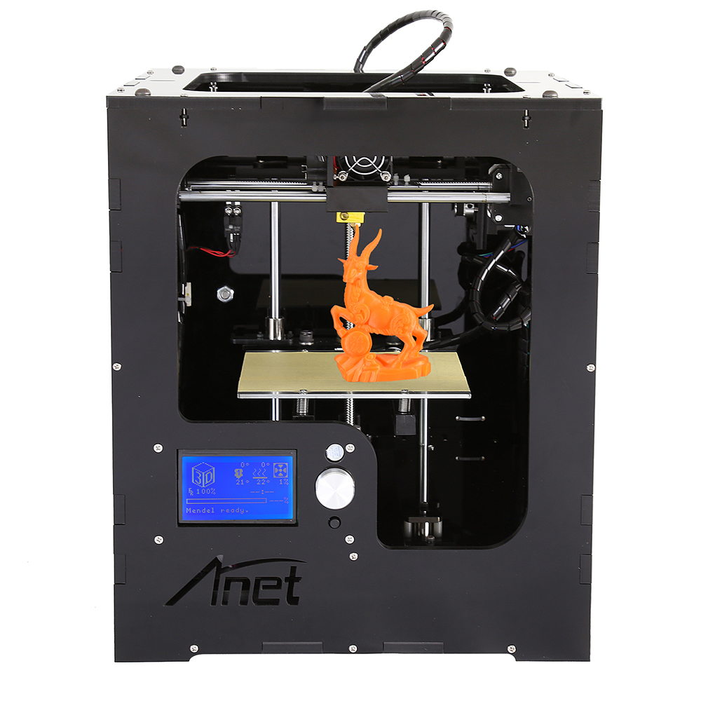 World brand Anet Household use assembled 3d printer with <strong>trade</strong> mark registered in EU and US