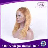 Most Popular Product China High Quality Human Cheap Silver White Wig With Baby Hair