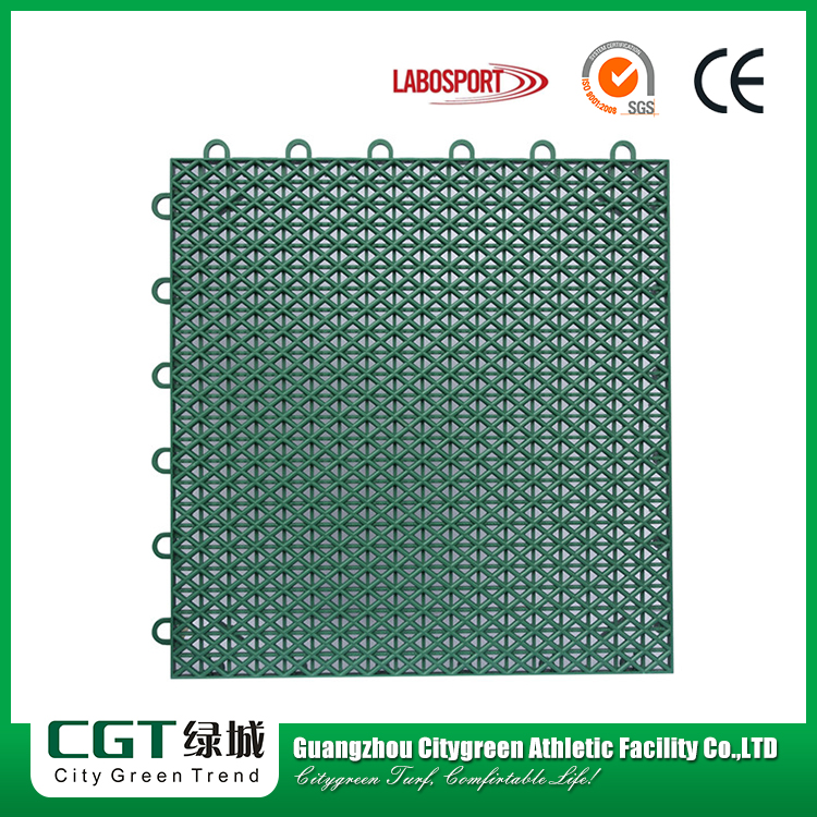 Portable outdoor removable sports floor tiles,durable interlocking rubber polyurethane sports flooring