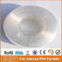 Cixi Jinguan Flexible Food Grade Clear PVC Plastic Aquarium Tube,Supply Soft PVC Drinking Water Vinyl Tubing Water Well Pipes