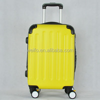 ABS /ABS+ PC hard shell side trolley travel luggage suitcase carry-on spin wheels