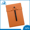 Eco Friendly PU Notebook with Pen Gift Set