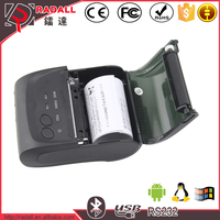 Trade Assurance 5802LD 58mm thermal printer android usb smartphone pc computer mini bluetooth printer