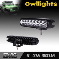 New product 4WD LED Light Bar 2015 4x4 12V 40W LED Spotlight 6inch led tractor light for Car and Motorcycle