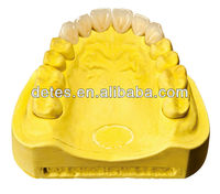 Economic Alloy porcelain denture / best false teeth at China