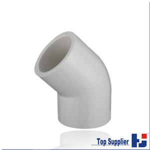 UPVC astm sch 40 Elbow 45 DEG Elbow Pipe fittings elbow