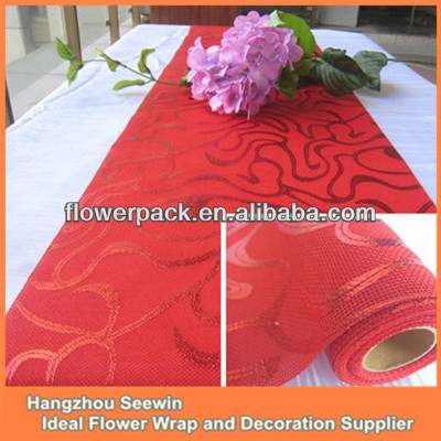 Red Christmas Linen Tablecloths