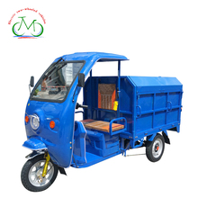 Electric tricycle with cabin , electric express delivery tricycle with closed cargo box , with enclosed van
